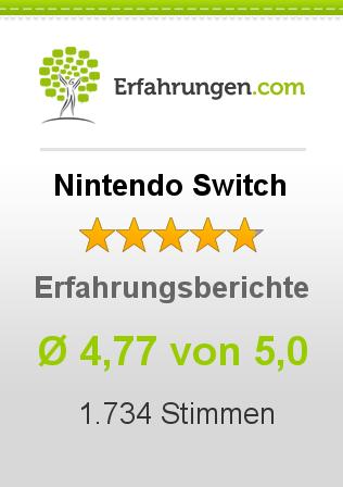 Nintendo Switch Erfahrungen