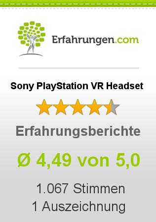 Sony PlayStation VR Headset Erfahrungen