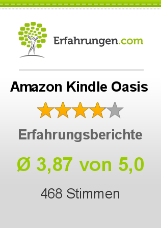 Amazon Kindle Oasis Erfahrungen