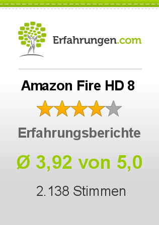 Amazon Fire HD 8 Erfahrungen