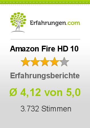 Amazon Fire HD 10 Erfahrungen