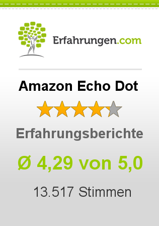 Amazon Echo Dot Erfahrungen