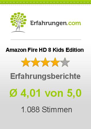 Amazon Fire HD 8 Kids Edition Erfahrungen