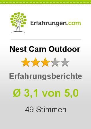 Nest Cam Outdoor Erfahrungen