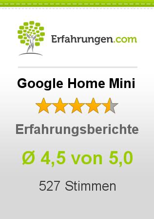 Google Home Mini Erfahrungen
