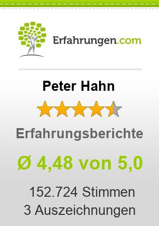 Peter Hahn Erfahrungen