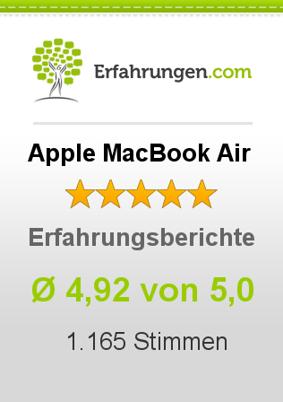 Apple MacBook Air Erfahrungen