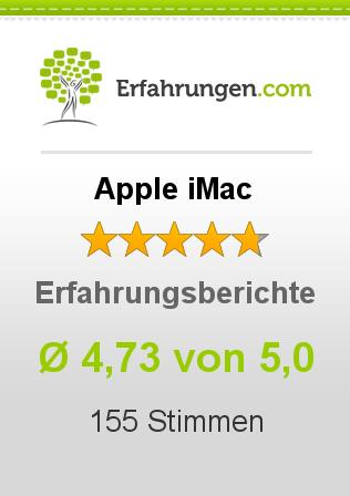 Apple iMac Erfahrungen