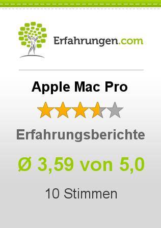 Apple Mac Pro Erfahrungen