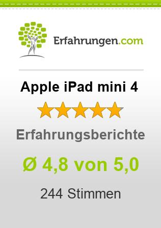 Apple iPad mini 4 Erfahrungen
