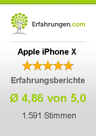 Apple iPhone X Erfahrungen
