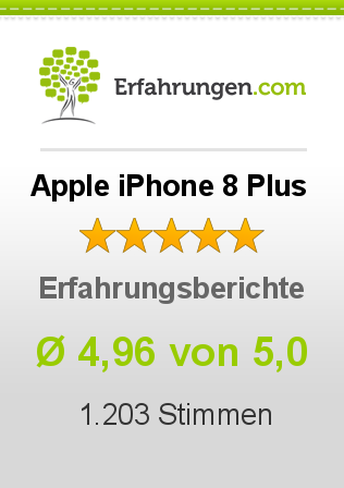 Apple iPhone 8 Plus Erfahrungen