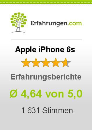 Apple iPhone 6s Erfahrungen