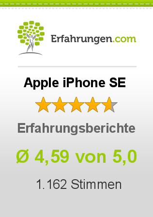 Apple iPhone SE Bewertungen