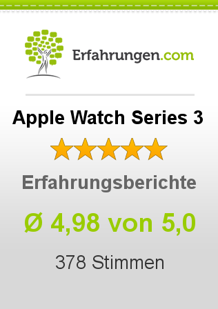 Apple Watch Series 3 Bewertungen