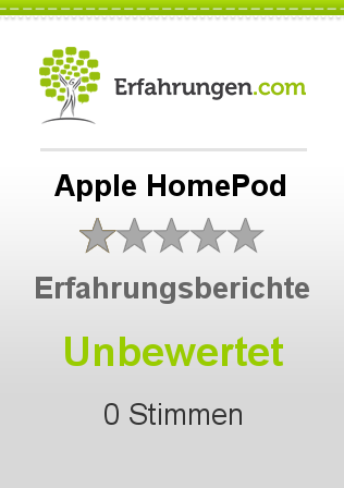 Apple HomePod Bewertungen