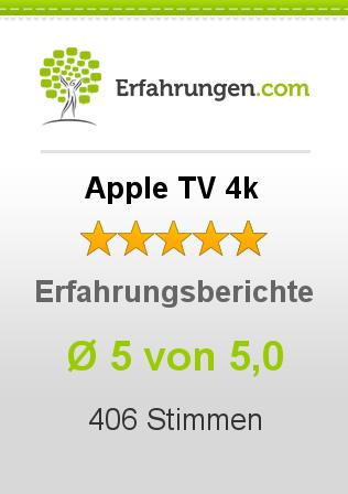 Apple TV 4k Erfahrungen