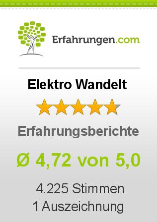 Elektro Wandelt Erfahrungen