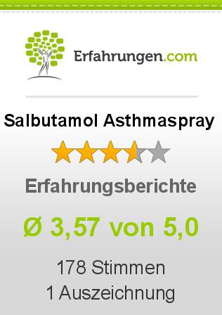 Salbutamol Asthmaspray Erfahrungen