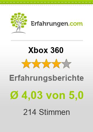 Xbox 360 Erfahrungen
