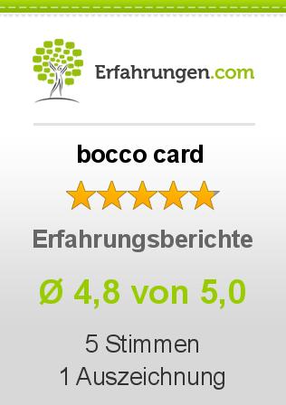 bocco card Erfahrungen