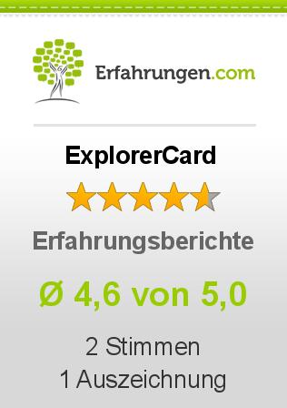 ExplorerCard Erfahrungen