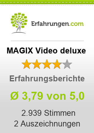 MAGIX Video deluxe Bewertungen