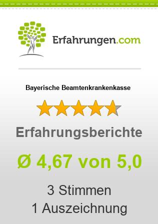 Bayerische Beamtenkrankenkasse Erfahrungen
