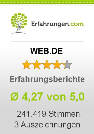 WEB.DE Erfahrungen