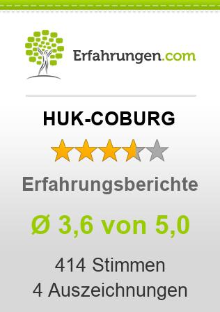 ᐅ Huk Coburg Erfahrungen Aus 407 Bewertungen 3 6 5 Im Test