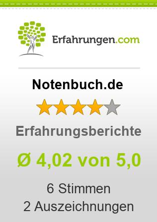 Notenbuch.de Erfahrungen