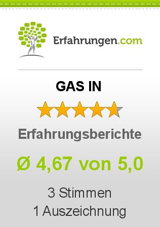 GAS IN Erfahrungen
