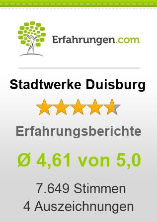 Stadtwerke Duisburg Erfahrungen
