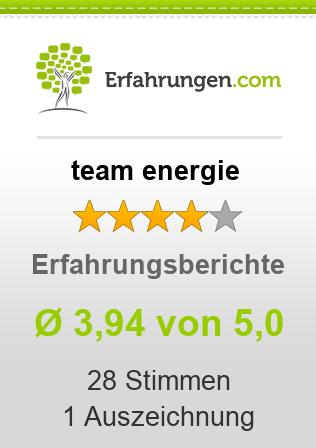 team energie Erfahrungen