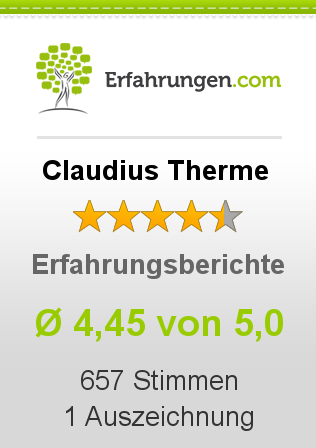 Claudius Therme Bewertungen