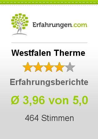 Westfalen Therme Erfahrungen