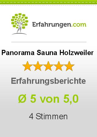 Panorama Sauna Holzweiler Erfahrungen