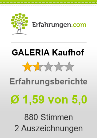 GALERIA Kaufhof Erfahrungen
