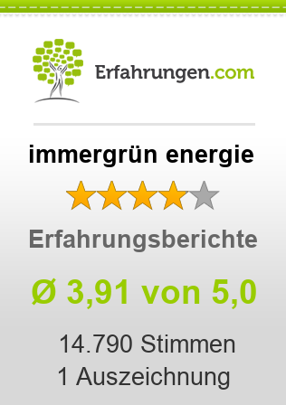 immergr n energie erfahrungen aus bewertungen 3 9 5 im test. Black Bedroom Furniture Sets. Home Design Ideas