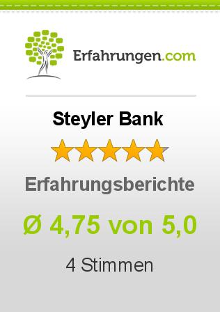 Steyler Bank Erfahrungen