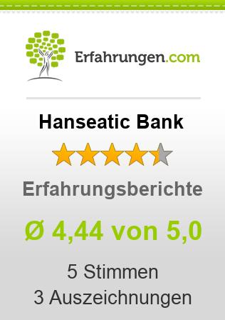 Hanseatic Bank Erfahrungen