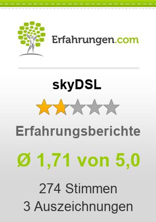skyDSL Erfahrungen