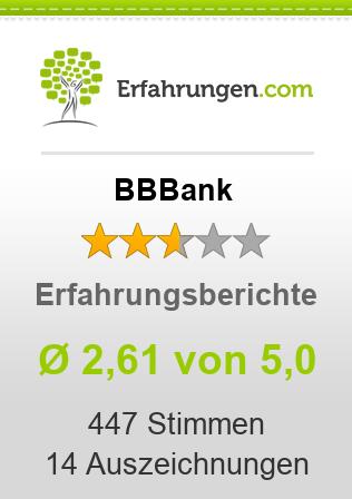 BBBank Erfahrungen