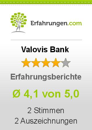 Valovis Bank Erfahrungen
