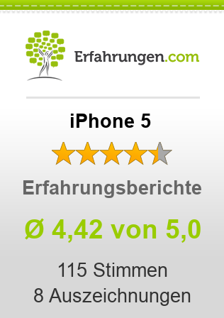 iPhone 5 Bewertungen