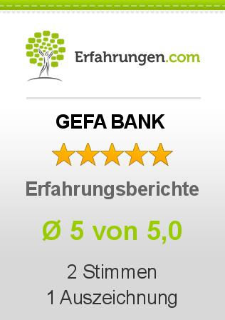 GEFA BANK Erfahrungen