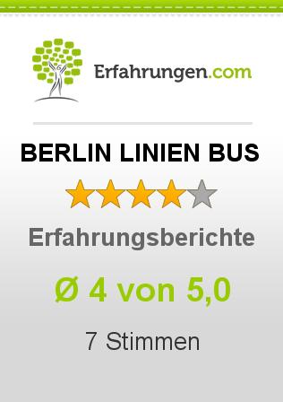 BERLIN LINIEN BUS Erfahrungen