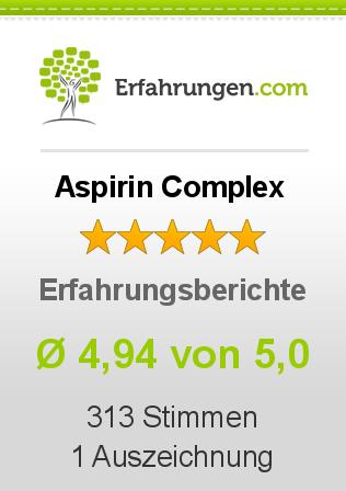 Aspirin Complex Erfahrungen