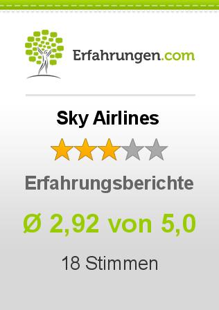 Sky Airlines Erfahrungen