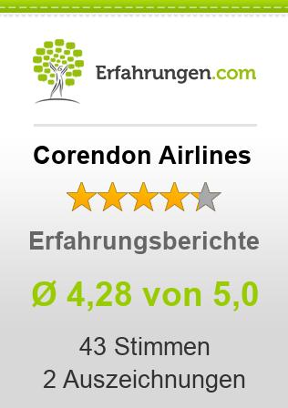 Corendon Airlines Erfahrungen